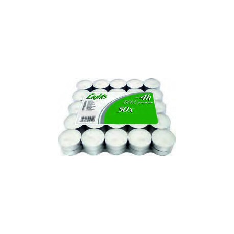 SUPER OFERTA!! Pack 50 calientaplatos (Tealights)