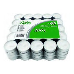 OFERTA!! Pack de 100 calientaplatos (Tealights)